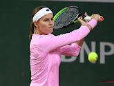 Greet Minnen is er niet in geslaagd om te stunten tegen Petra Kvitová