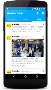 Next Bus Dublin - screenshot thumbnail