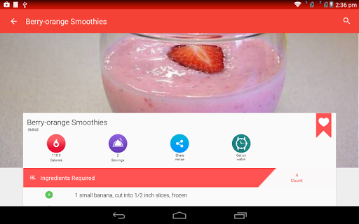 Juice Recipes for Android apk 21