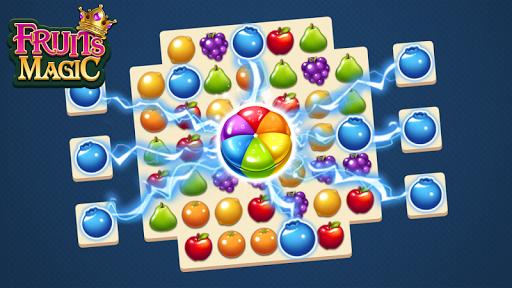 Fruits Magic Sweet Garden: Match 3 Puzzle ss2