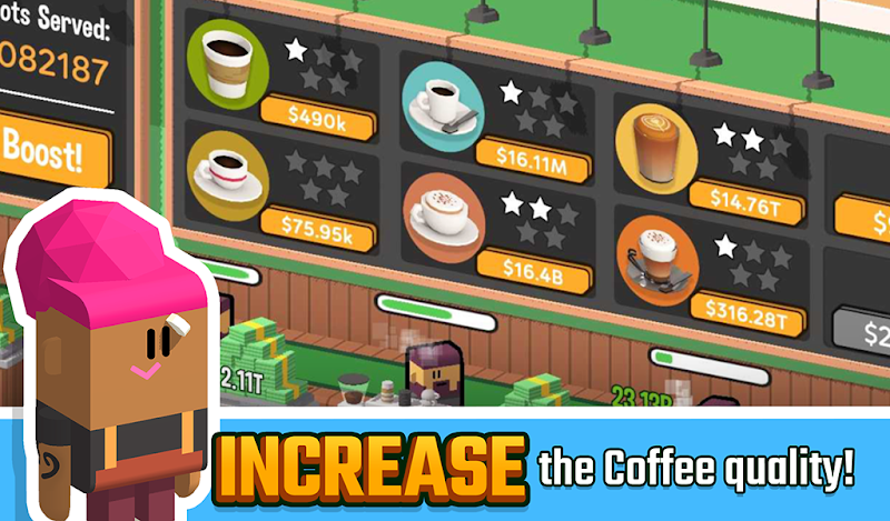 Idle Coffee Corp Screenshot 17
