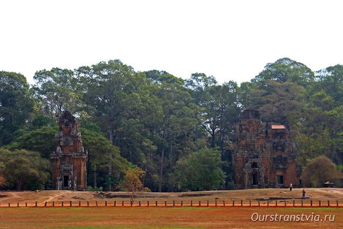 Prasat Suor Prat, Ангкор Том, Камбоджа