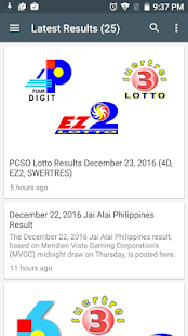 PCSO Lotto Result - náhled