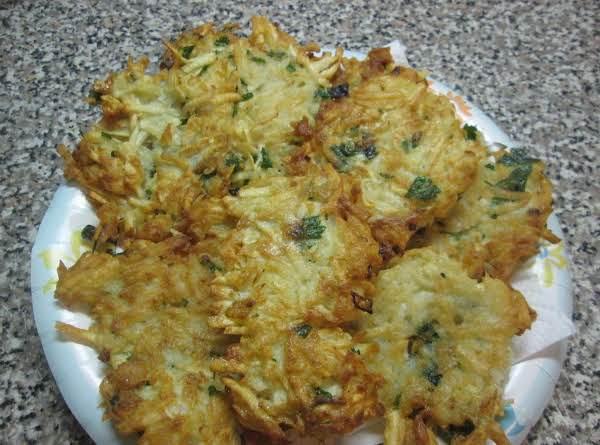 Malanga ( Taro Root) Fritters