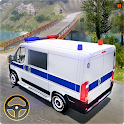Police Car Simulator Van Driver Free Game 2020 icon