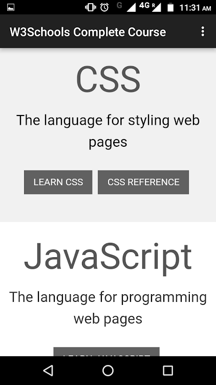 W3Schools - Complete Course – (Android Apps) — AppAgg
