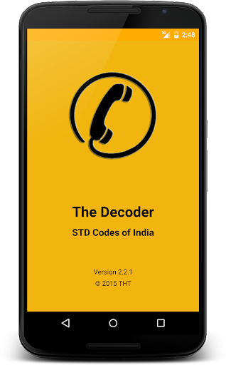 The Decoder-STD Codes of India