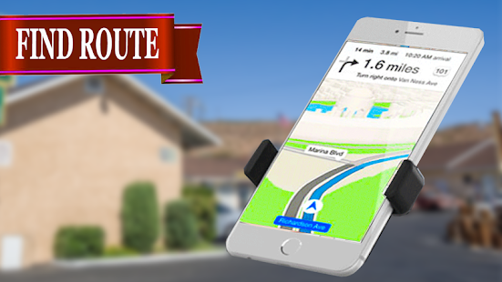 GPS Map Navigation plus Direction Finder Offline - náhled
