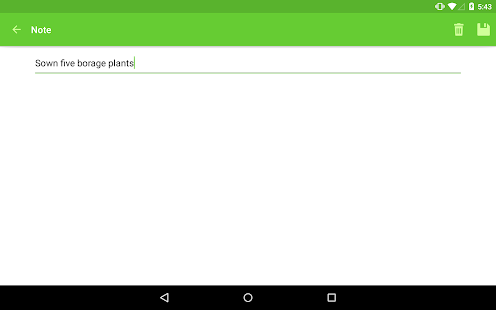 Gardroid - Vegetable Garden- screenshot thumbnail