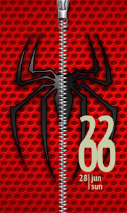Lastest Spider Zipper Lock Screen APK