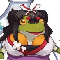 花鳥風月蛙
