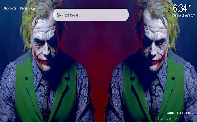 Joker HD Wallpaper New Tab