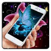 Vivid Butterfly Live Wallpaper