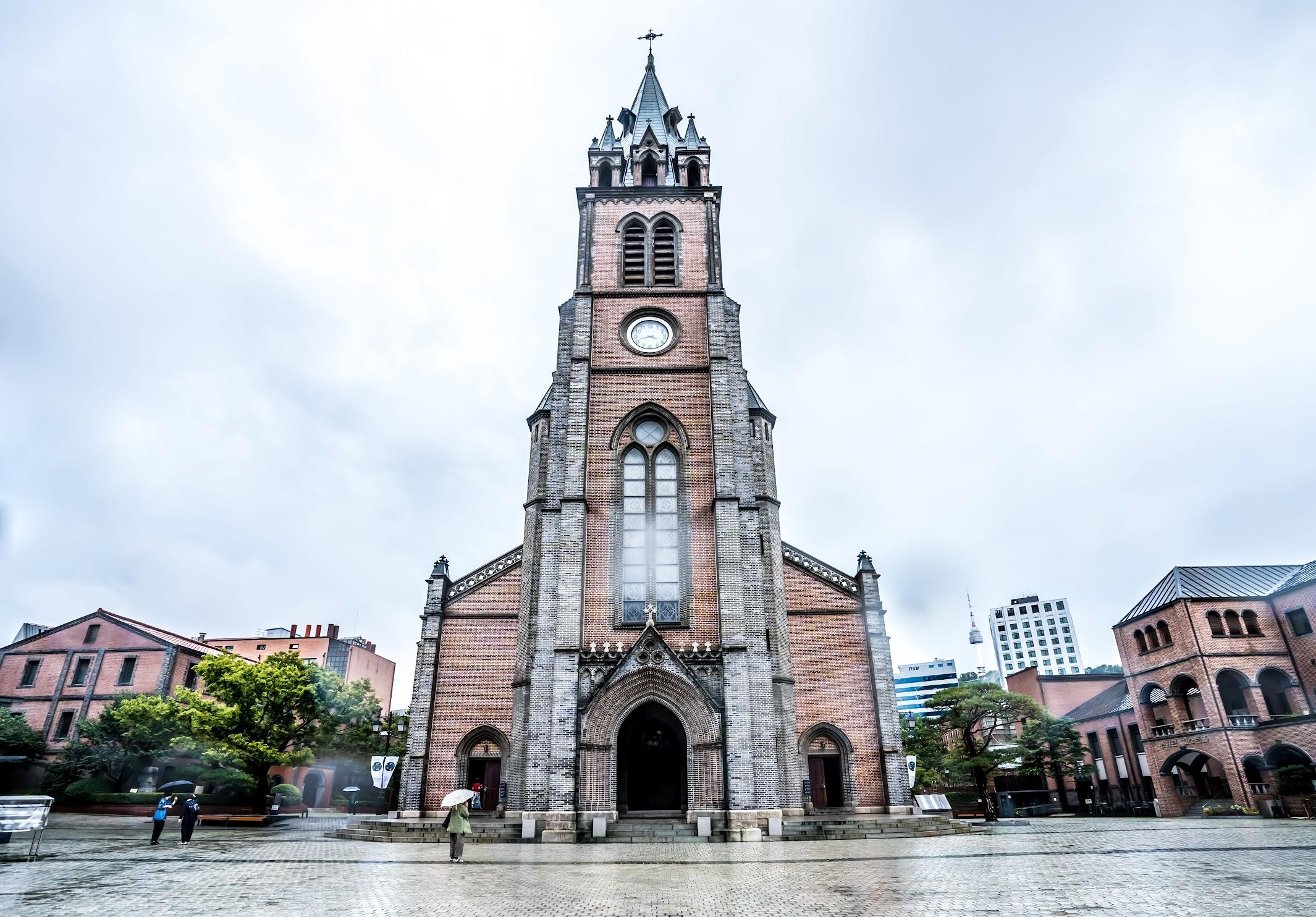 ソウル 明洞聖堂1