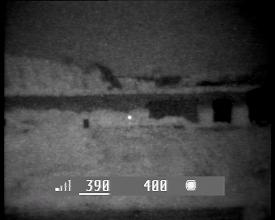 Photo: Прицел ПГО-7 установлен на треноге на расстоянии 390-400 м.