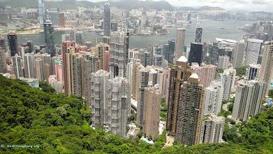 """Photo: """"The Peak"""" view of Hong Kong"""
