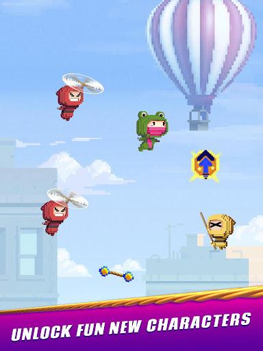 Ninja Up! - Endless arcade jumping  screenshots 15