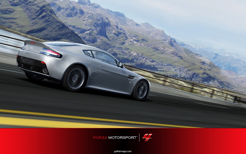 Photo: Aston martin v12 vantage car HD Image