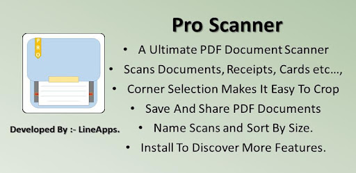 Pro Scanner : PDF Document Scanner Applications pour Android screenshot