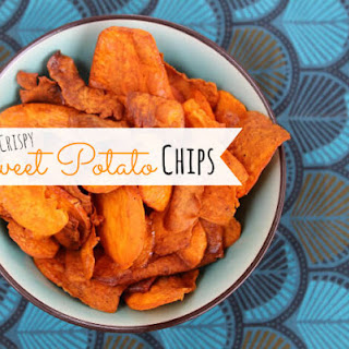 Crispy Paleo Sweet Potato Chips