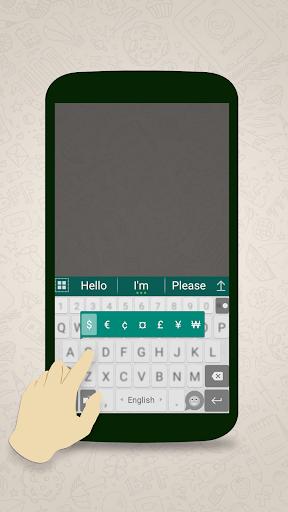 ai.keyboard theme for WhatsApp 5.0.3 screenshots 4