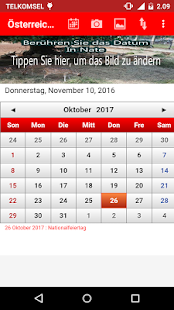 sterreich kalender 2017 android apps on google play. Black Bedroom Furniture Sets. Home Design Ideas
