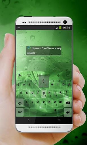 绿色的火焰 TouchPal 主题|玩個人化App免費|玩APPs