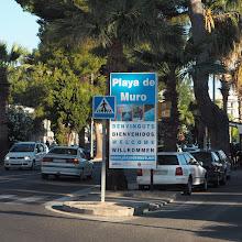 Photo: Palman kaupungin lisäksi halusimme tutustua Mallorcaan rantalomakohteena ja päädyimme Playa de Murolle
