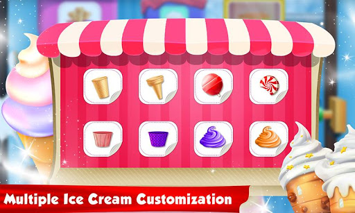 Ice Cream Cone Cupcake Factory: Candy Maker Games 1.0 screenshots 5