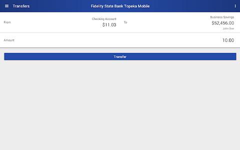 Fidelity State Bank Topeka screenshot 7
