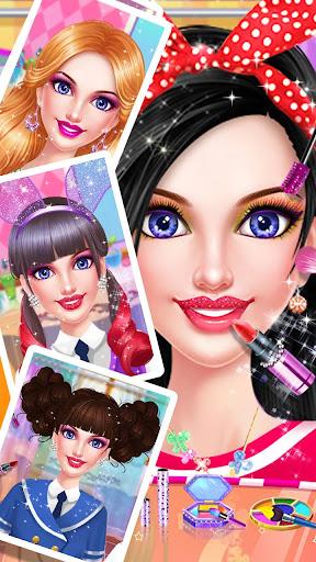 School Makeup Salon apkpoly screenshots 3