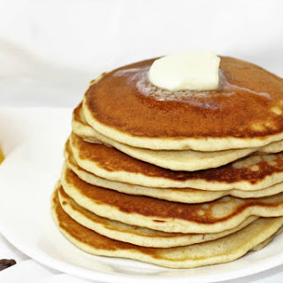 Banana Chocolate Orange Pancakes