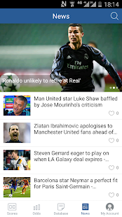 7M Live Scores Pro - News&Odds- screenshot thumbnail