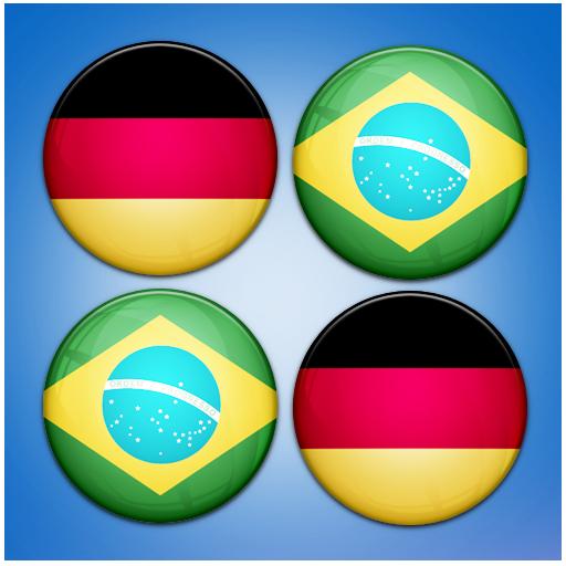 Flag Matching : Brazil 2014 解謎 App LOGO-硬是要APP