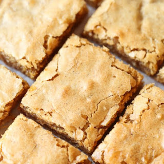 Chewy Coconut Bars.
