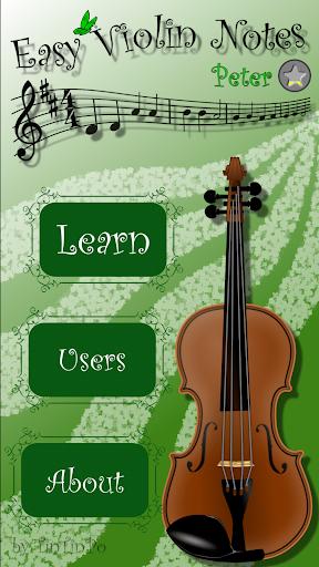 Easy Violin Notes 3.2 screenshots 1