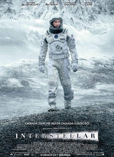 Polski plakat filmu 'Interstellar'
