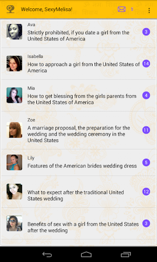 Dating with USA girls