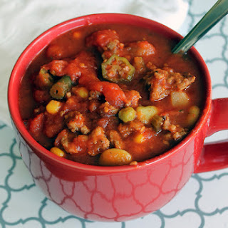 Slow Cooker Pork Sausage Stew