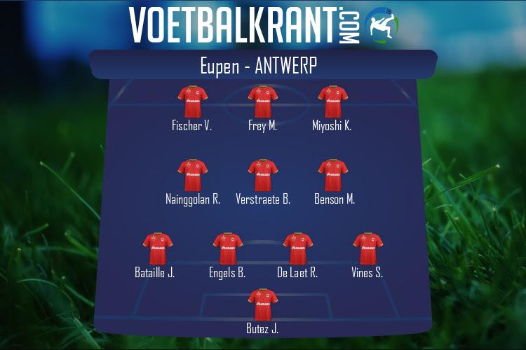 Antwerp (Eupen - Antwerp)
