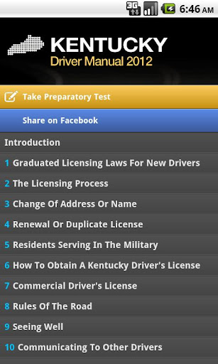 kentucky driver manual free apk download | apkpure.co