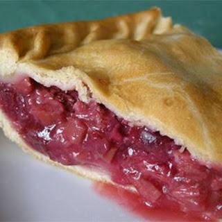 Fresh Rhubarb Pie
