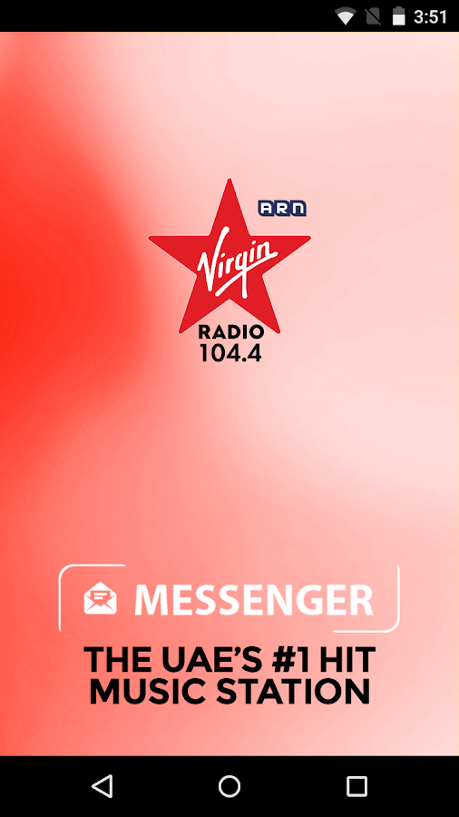 Virgin Radio Dubai - Messenger- screenshot