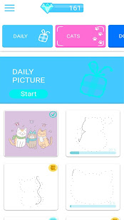 Dotly- connect dot to dot, free waiting room games