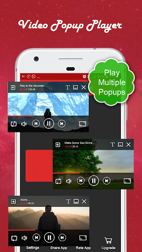 Video Popup Player :Multiple Video Popups 1.16 screenshots 1