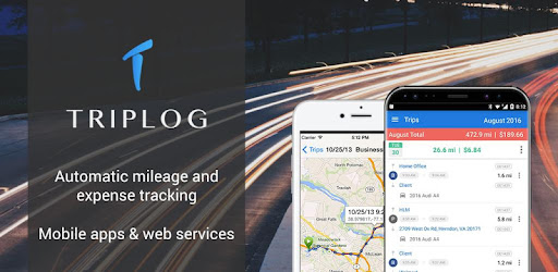 triplog mileage gas tracker apps on google play