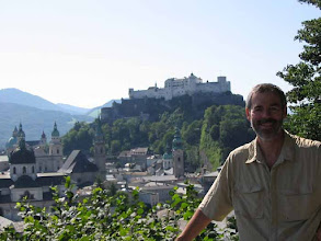 Photo: Looking across old-town Salzburg