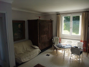 Photo: southern facing living room, with fold out couch