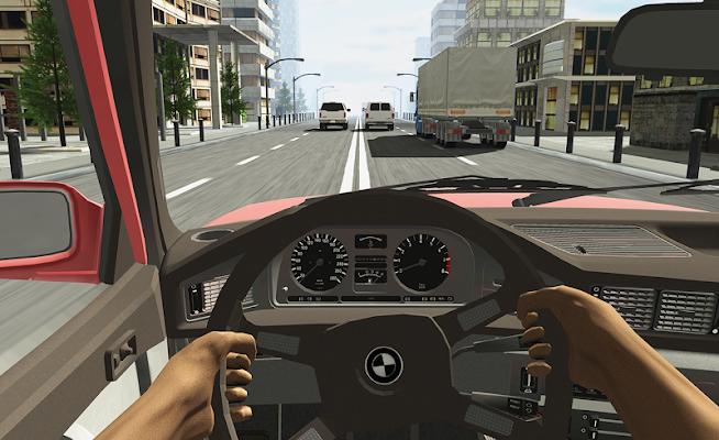 Racing in Car - screenshot