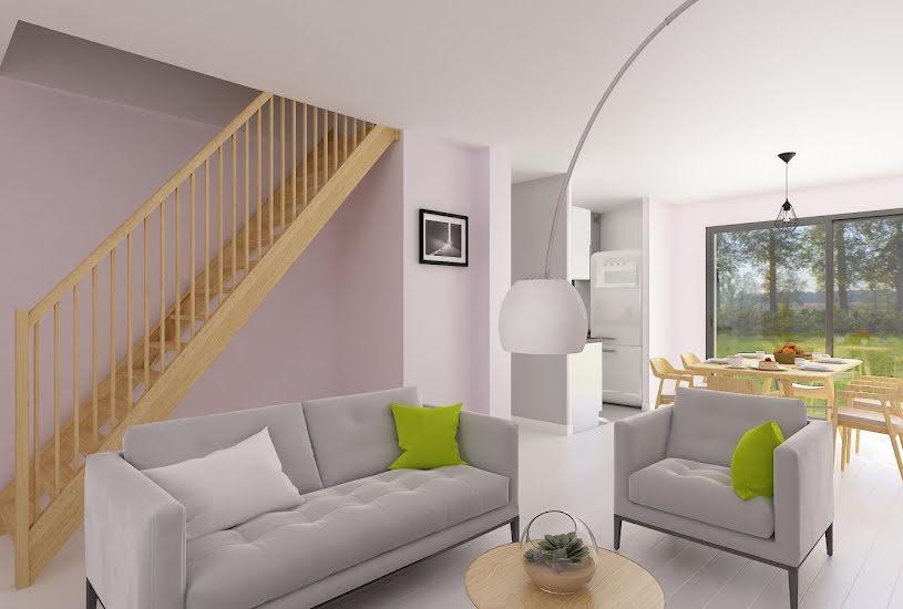 Vente Terrain + Maison - Terrain : 347m² - Maison : 104m² à Pussay (91740)